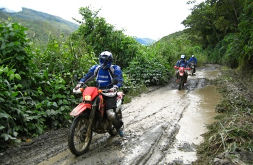 peru moto tours map