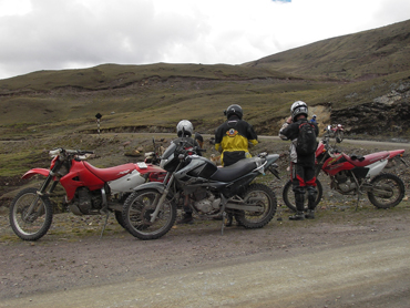 rental motorcycle peru